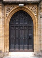 Gothic Door by OghamMoon