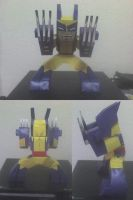 WOLVERINE X MEN PAPERCRAFT by tenchaos