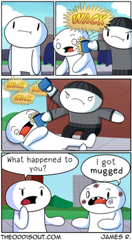 Mugged #2 by theodd1soutcomic