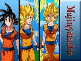 Girl Goku by Majingokuable