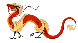 Fire Dragon - Huoyan by Bueshang