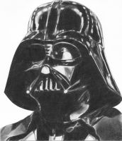 Classic Darth Vader by mhprice