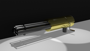 Wip Gatling Gun by jensdevries