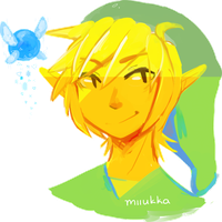 Link and a furbal by Miiukka