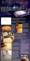 tutorial: the making of evening star by Ithilloth