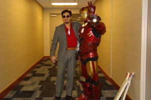 Tony Stark and Tony Stark at MizuCon 2012 by franny-neesan