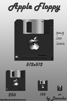 Apple Floppy by DemchaAV