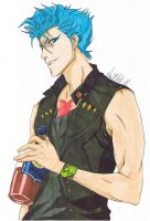 grimmjow III by CharliRed