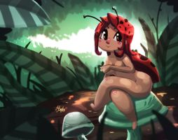 Ladybug girl by Dylean