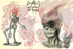 Gaul concept revamped by InkTailedDragon