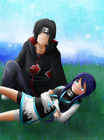 Hinako x Itachi by Urufei-Chopsticks