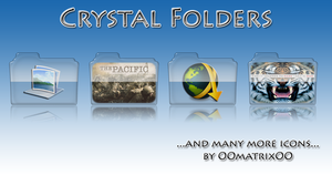 Crystal Folders by OOmatrixOO