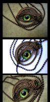 New Pics of an Old Piece - Steampunk Green Bronze by LadyPirotessa