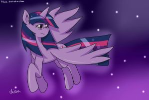 Twilight Soaring by yichiau