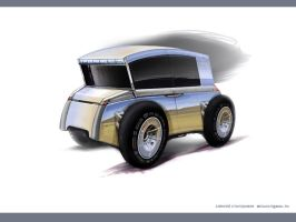 The concept of all-terrain vehicle by Alexey-Starodumov