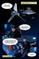 Star Wars ROTJ Fan Comic Page by GARTART