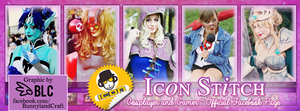 [Commission] Facebook Cover - Icon Stitch by BunnyLandCraft