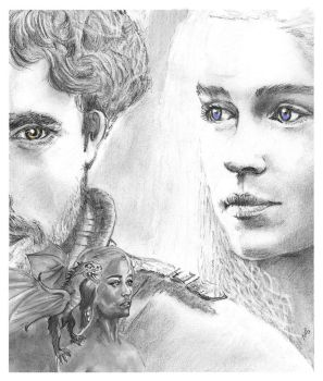 Emilia Clarke  game of thrones by nev777