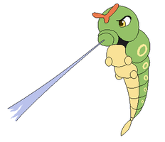 Caterpie used String Shot by Kainaa