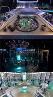 Stage Request: 11th Doctor's TARDIS console room by D-Chan416