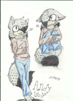 ANDY IN RAZOR'S LONG SLEEVED SHIRT by TailsicaTFox