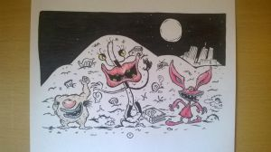 Aaahh Real Monsters by Serchz