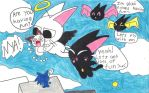 Nyanpires having lots of fun~ by Angelchao64
