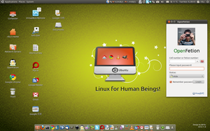 My Ubuntu Desktop by rikulu