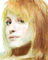 Hayley Williams by sunset-accident