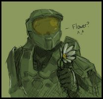 Halo - Master Chief on a Date by Aucifiel