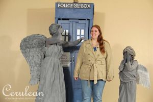 Doctor Who Photoshoot: Sally Sparrow by StrangeStuffStudios