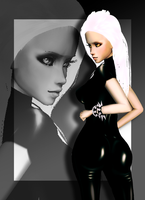Skintight Saint DP by EsotericDichotomy