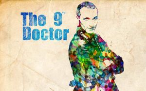 9th Doctor: Watercolor by ElijahVD