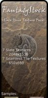 Slate Stone Texture Pack by FantasyStock