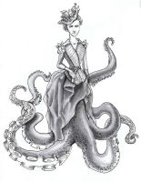 Lady Octopus by Ketchyness