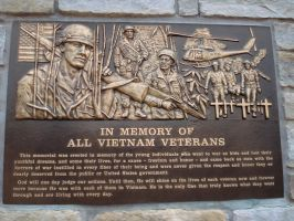 Vietnam Veterans Memorial -OH- by Maniacmarshmellow