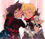 Vanitas and Ventus Take a Trip to Flavor Town by pizzafrogs