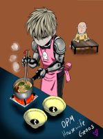 OPM housewife Genos by MalainaKanda