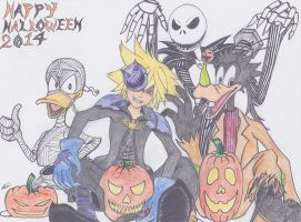 Halloween Town 2014(color) by FatalCovenant