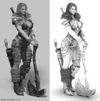 Making of Female Character  Norse with Zbrush by avcgi360