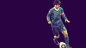 Lionel Andres Leo Messi 4 by MQ18