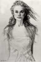 Pencil Drawing Keira Knightley by SHParsons