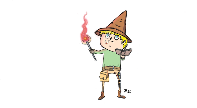 The Great Wizard Jenkins by MasterBellick