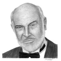 Sean Connery by hartr