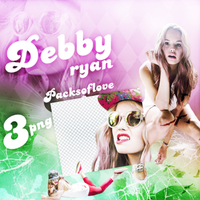 PNG PACK (92) Debby Ryan by DenizBas