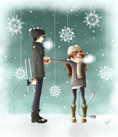 *Just for this once...* 1835 - Merry Xmas! - KHR by Akira035