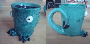 Monster mug 1 by Ulltotten