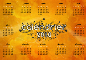 calendrier 2010 by rachidbenour