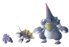 Water Starters FAKEMON by Weyard
