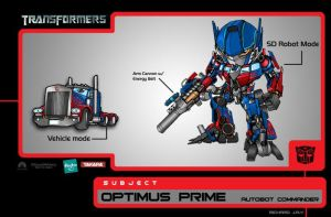 Optimus Prime the Movie by the-tracer